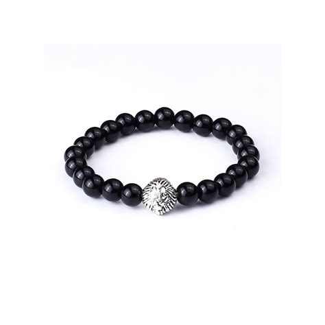 bead bracelets for guys s beaded bracelet with s charm gentlemens