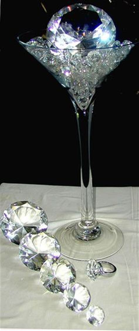 oversized chagne glass centerpieces 1000 ideas about martini glass centerpiece on