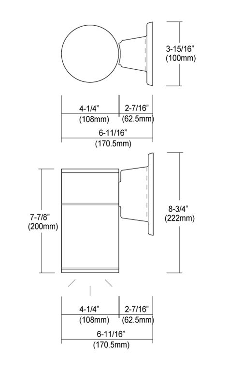 """4"""" LED Cylinder Downlight - RP Lighting + Fans"""