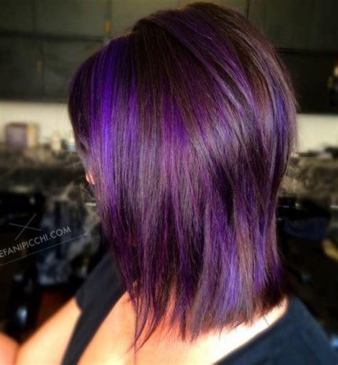 shag haircut brown hair with lavender grey streaks shag haircut brown hair with lavender grey streaks 2017