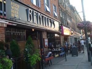 Bentley S Restaurant Stratford Ontario
