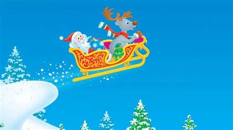 imagenes de navidad trineos sfondi di natale hd