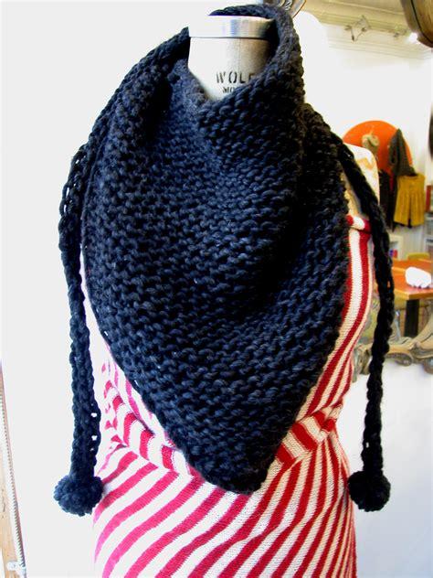triangle pattern knit scarf triangle scarf knitting pattern a knitting blog