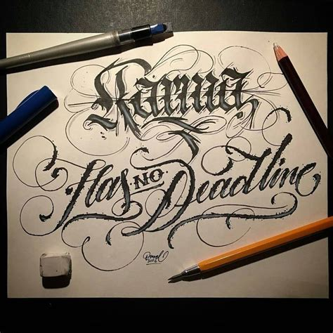 tattoo fonts karma 45 best tattoos images on ideas