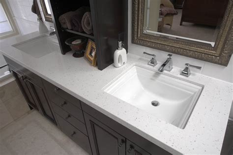 bathroom sink granite countertop silkstone granite calgary custom granite countertops
