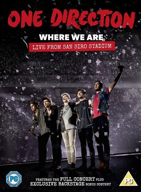 Where We Are 1d cover dvd one direction where we are live from san siro stadium team world