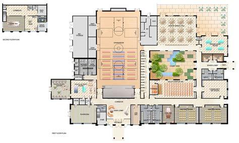 community center plans brigantine community center and