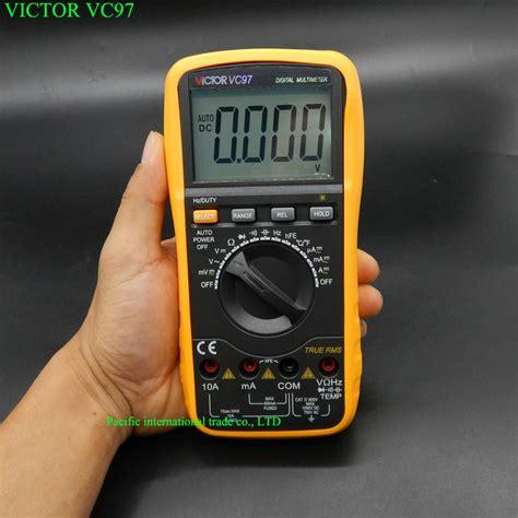 Multimeter Victor victor vc97 auto range dmm ac dc voltmeter capacitance