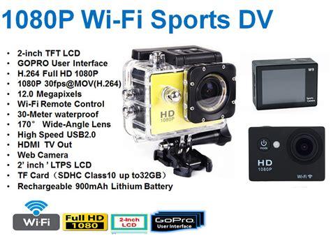 Kamera Sport 12mp Hd 1080 P Anti Air No Wifi 4 jual sport wi fi hd 1080p gopro hd 1080p