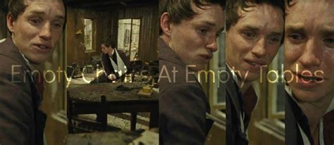 Eddie Redmayne Empty Chairs At Empty Tables by Empty Chairs And Empty Tables Les Mis