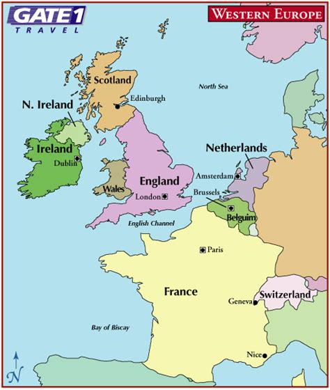map of britain and europe in europe map thefreebiedepot