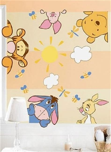 Winnie The Pooh Nursery Decor Winnie The Pooh Wall Decals