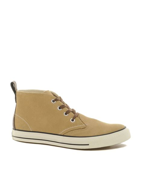 converse all berkshire suede chukka boots in beige