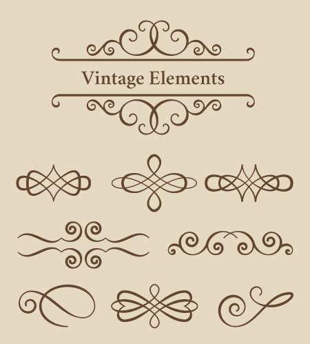 vintage line art tutorial how to create vintage ornament set with vectorscribe in