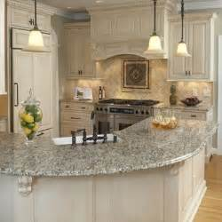 Curved Island Kitchen Designs by Best 25 Raised Kitchen Island Ideas On