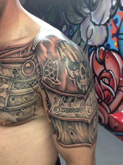 armor tattoos 55 great armor tattoos for chest