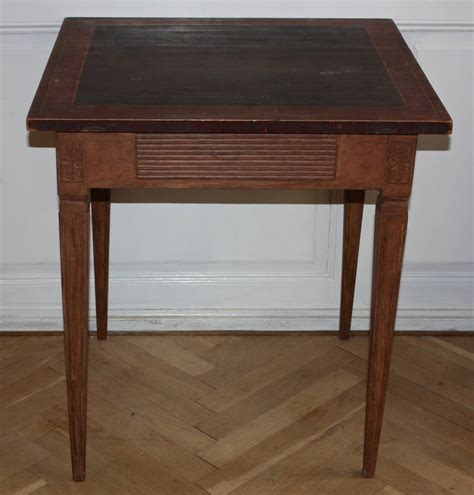Small Side Desk 19th Century Gustavian Side Table Or Small Writing Desk At 1stdibs