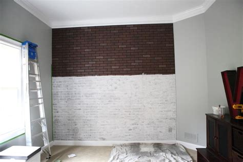 Decorative Bricks Home Depot by Wishy Washy Brick Wall Bower Power