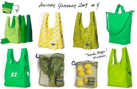 Bags For Giveaways - holiday feature baggu duck bag giveaway notcot gift guide 2009