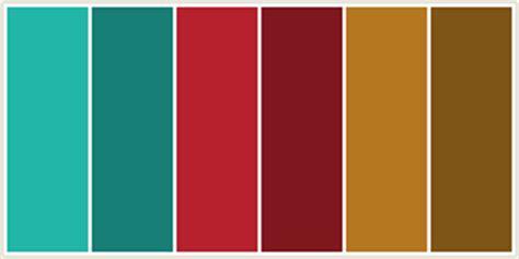 colorcombo249 with hex colors 21b6a8 177f75 b6212d 21b6a8 hex color rgb 33 182 168 blue green java