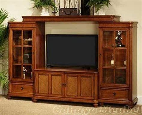 Bufet Rak Tv set lemari tv minimalis mewah jati jepara bufet tv modern