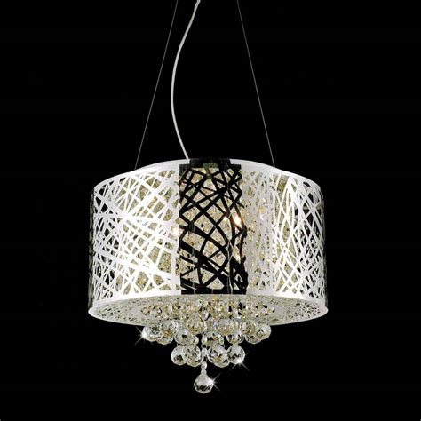 Brizzo Lighting Stores 16 Quot Web Modern Laser Cut Drum Drum Shade Pendant Chandelier