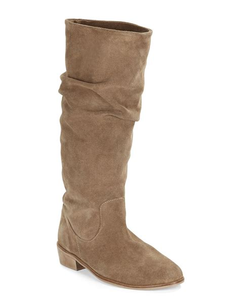 charles by charles david joan suede mid calf boots in