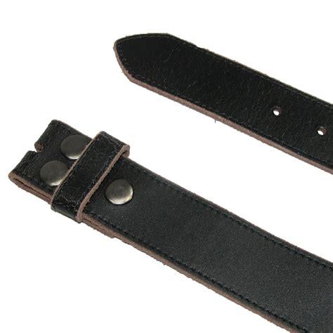 mens vintage leather distressed no buckle bridle belt by