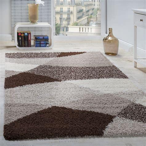 teppiche hochflor shaggy teppich hochflor langflor weich geometrisch