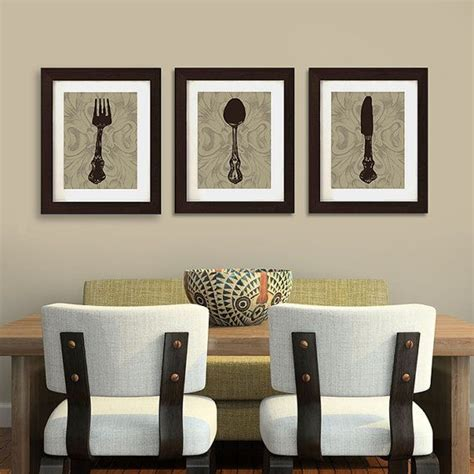 dining room artwork ideas this kitchen or dining room print trio by