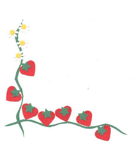 strawberry vine border   clip art  clip art  clipart library