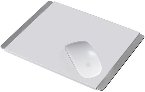 Mouse Pad Apple the just mobile alupad is the mouse pad your imac deserves cult of mac