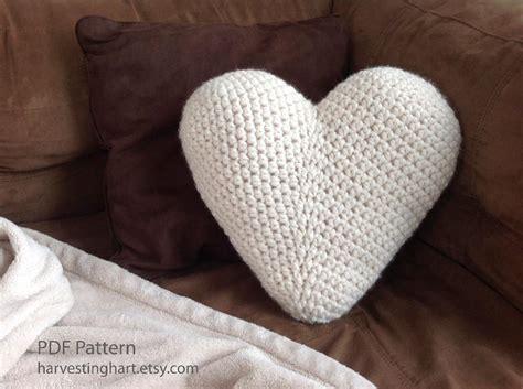 free crochet pattern heart pillow crochet heart pillow pattern