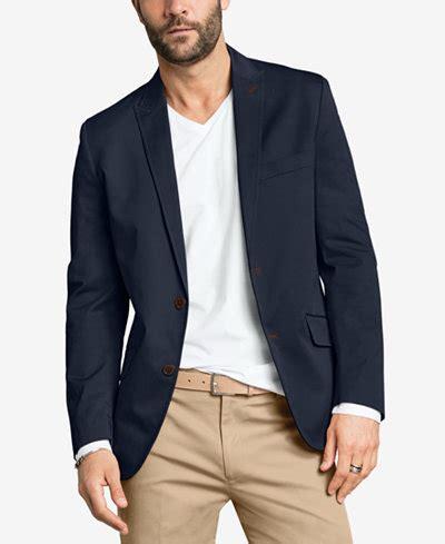 Blazer Pria Hugo Black i n c stretch slim fit blazer suits tuxedos