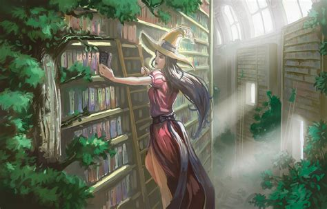 The Lost Library the lost library by nesskain on deviantart