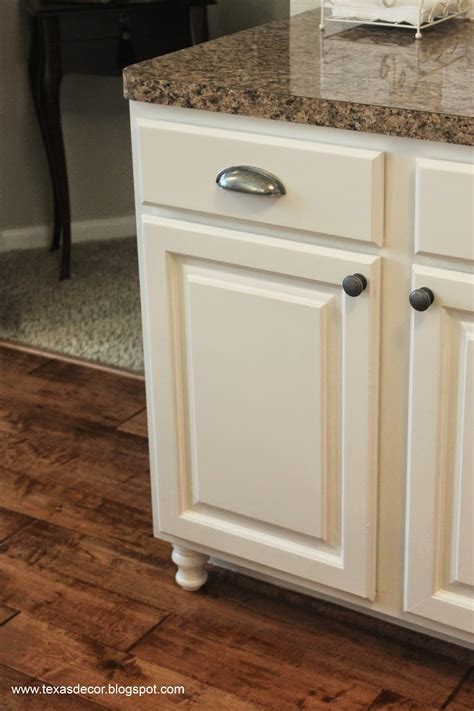 Texas Decor Painted Kitchen Cabinet Reveal Furniture Kitchen Cabinet
