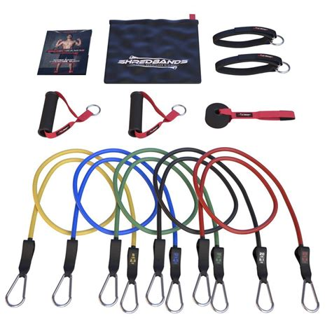 shred bands resistance bands master of