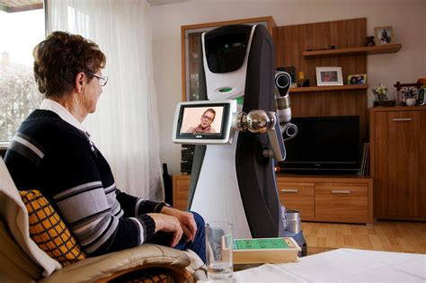 how robot technology is caring for the elderly global