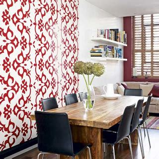 property ideal home feb 2010 with a moregeous designed walls wallpaper inspiration dining room