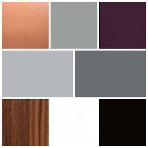 copper color combinations color palette for our living spaces a mix of grays on the