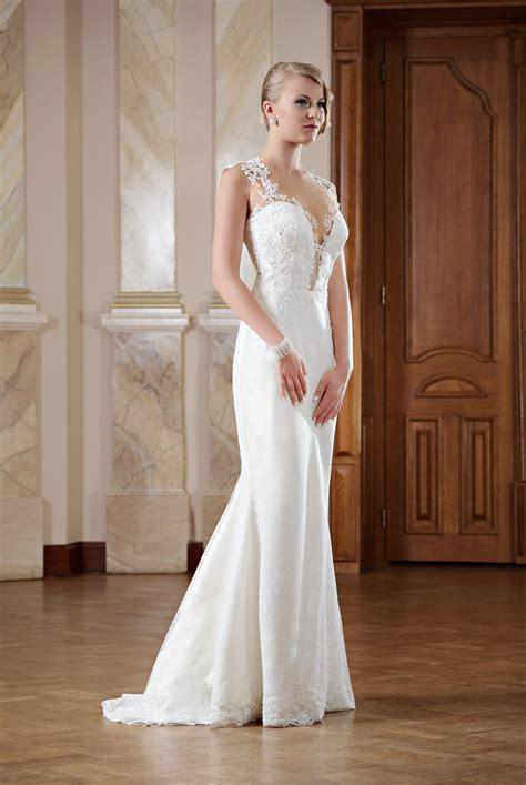 Brautkleider Rückenfrei hochzeitskleid r 252 ckenfrei mit langer schleppe kleiderfreuden