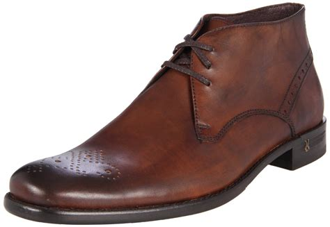 varvatos varvatos mens dress medallion chukka