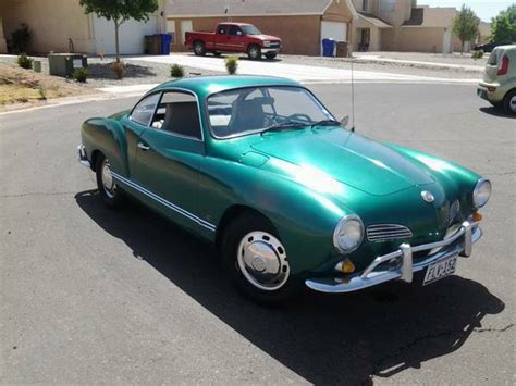 karmann ghia green green with ev 1968 karmann ghia