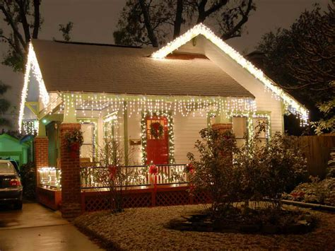 homes with christmas decorations outdoor unique christmas lights for small house decor