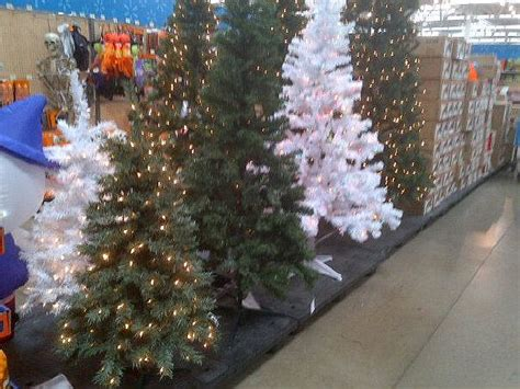 when will walmart put xmas trees on sale stores already in mode audio