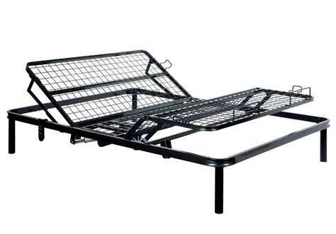 framos eastern king versatile adjustable bed frame remote black steel ebay