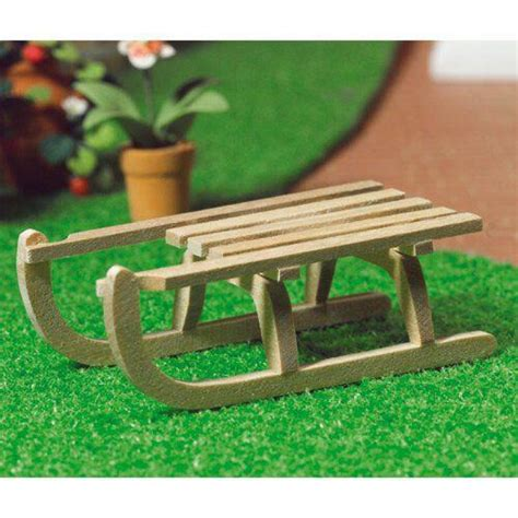 traditional wooden dolls house the dolls house emporium traditional wooden sledge