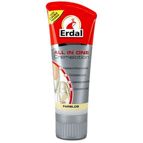 Schuhe Polieren Ohne Schuhcreme by Erdal All In One Cremelotion Farblos Schuhpflege
