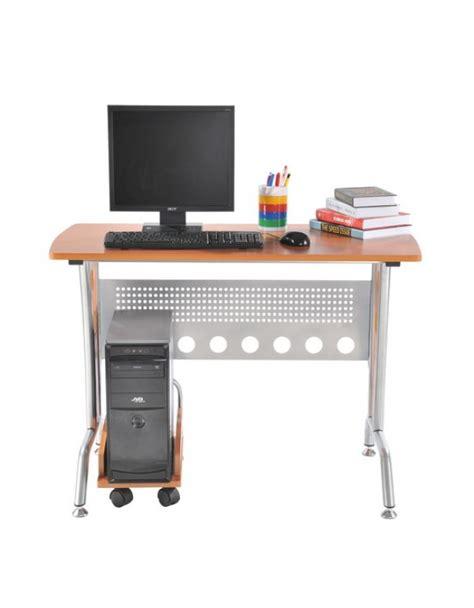 scrivanie porta pc in legno homcom scrivania da ufficio con porta pc in legno mdf e