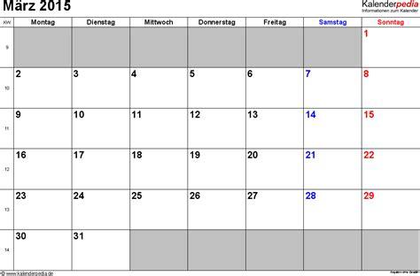Kalender 2015 Monatsweise Kalender M 228 Rz 2015 Als Pdf Vorlagen
